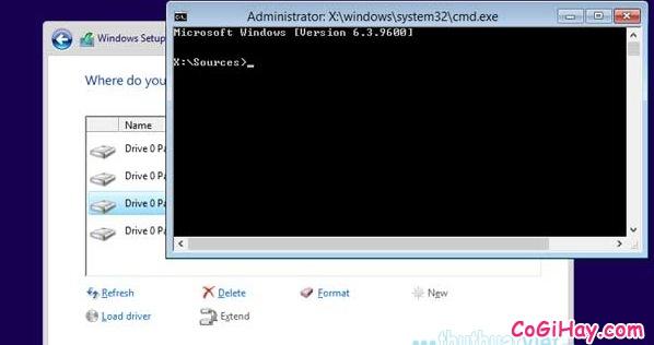 khắc phục lỗi không chọn ổ đĩa khi cài Windows 64bit