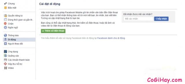 Hình 3 - Cách đăng tin Facebook bằng tin nhắn