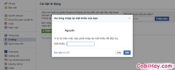 Hình 9 - Cách đăng tin Facebook bằng tin nhắn