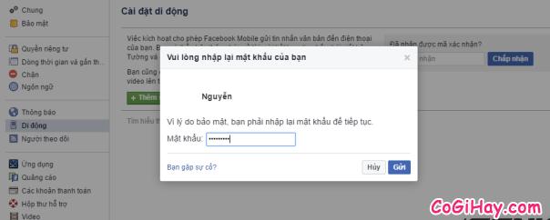 Hình 10 - Cách đăng tin Facebook bằng tin nhắn