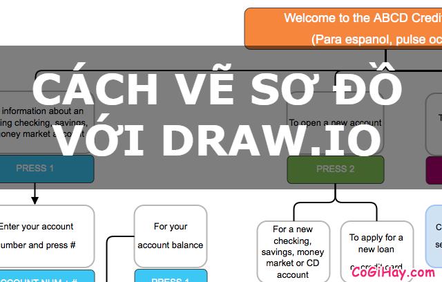 Cách vẽ Sơ Đồ không cần phần mềm với Draw.io