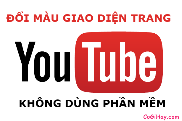 Mẹo đổi giao diện YouTube sang màu đen đơn giản