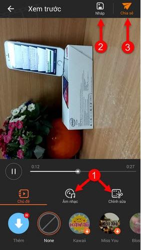 Hướng dẫn quay VivaVideo cho Android, iPhone & iPad + Hình 5