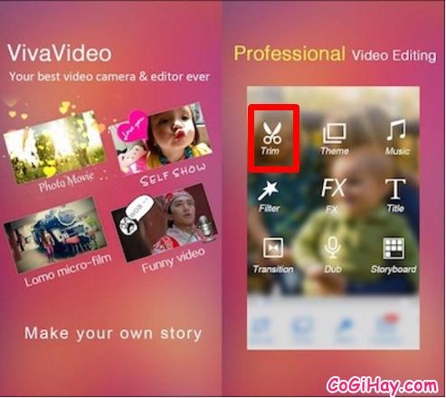 Hướng dẫn sử dụng phần mềm Viva Video để cắt một đoạn video cho Android & iOS + Hình 2