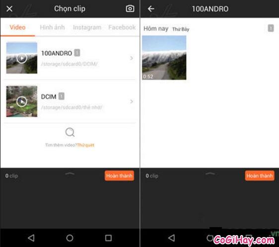 Hướng dẫn sử dụng phần mềm Viva Video để cắt một đoạn video cho Android & iOS + Hình 3