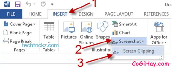 Các bước chỉnh sửa ảnh & chụp ảnh màn hình trực tiếp cho Word + Hình 3