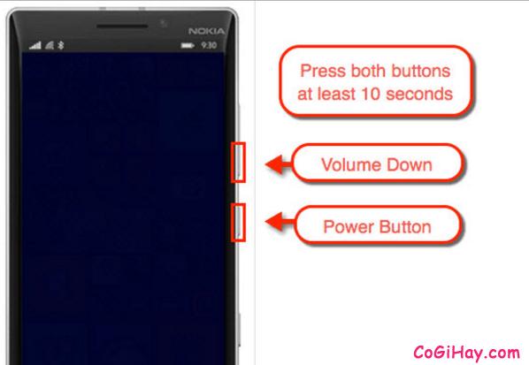 Hướng dẫn sửa lỗi treo logo cho điện thoại Windows Phone + Hình 2