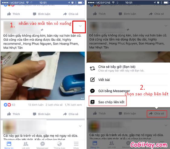 Hướng dẫn xem và lưu lại liên kết cho ứng dụng Facebook + Hình 6