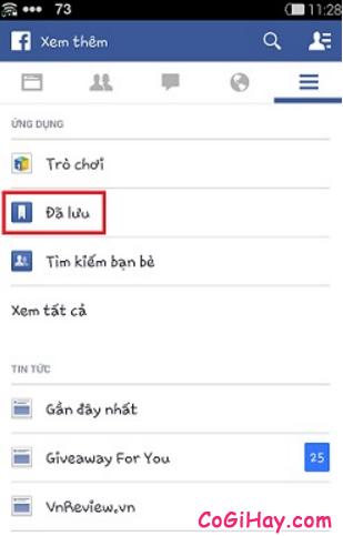 Hướng dẫn xem và lưu lại liên kết cho ứng dụng Facebook + Hình 7