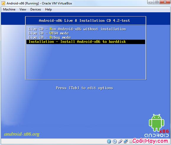 Cài đặt phần mềm giả lập Android trên máy tính bằng VirtualBox + Hình 4