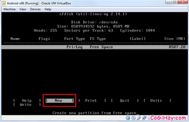 Cài đặt phần mềm giả lập Android trên máy tính bằng VirtualBox + Hình 6