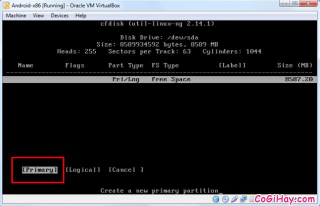 Cài đặt phần mềm giả lập Android trên máy tính bằng VirtualBox + Hình 7