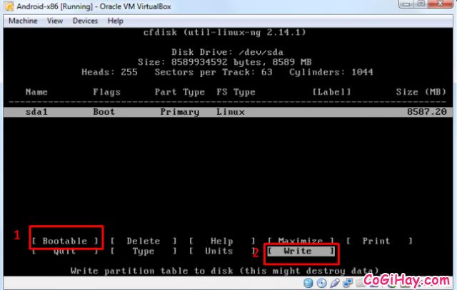 Cài đặt phần mềm giả lập Android trên máy tính bằng VirtualBox + Hình 8