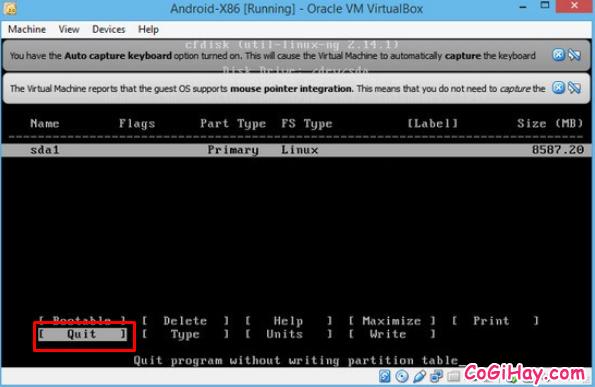 Cài đặt phần mềm giả lập Android trên máy tính bằng VirtualBox + Hình 9