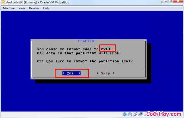 Cài đặt phần mềm giả lập Android trên máy tính bằng VirtualBox + Hình 11