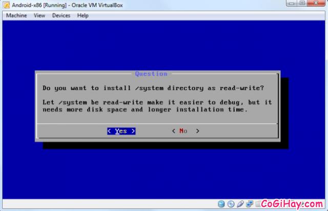 Cài đặt phần mềm giả lập Android trên máy tính bằng VirtualBox + Hình 12