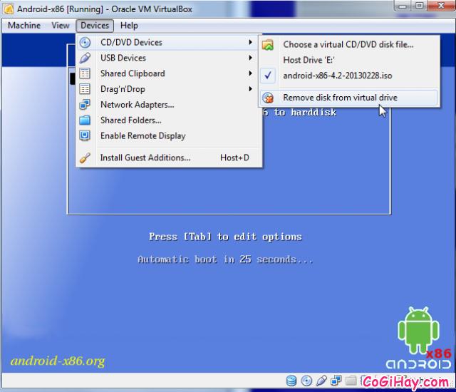 Cài đặt phần mềm giả lập Android trên máy tính bằng VirtualBox + Hình 13