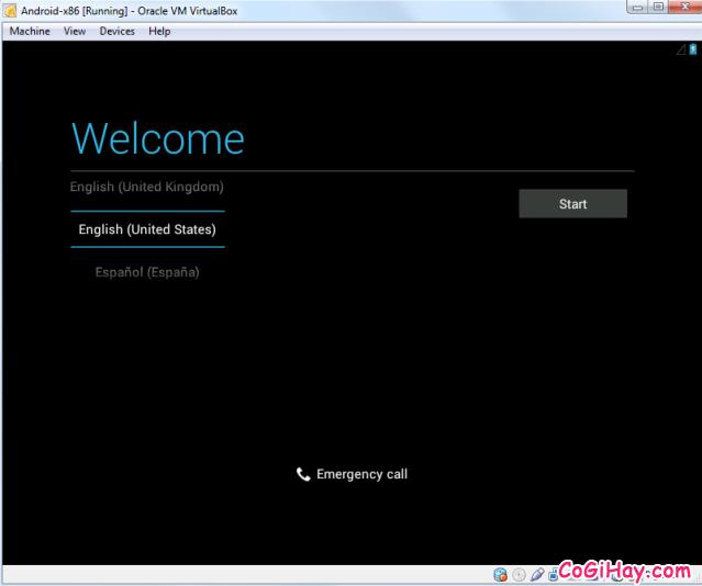 Cài đặt phần mềm giả lập Android trên máy tính bằng VirtualBox + Hình 14