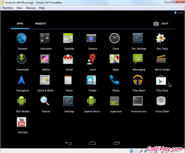Cài đặt phần mềm giả lập Android trên máy tính bằng VirtualBox + Hình 16