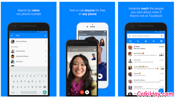 các tính năng của facebook messenger