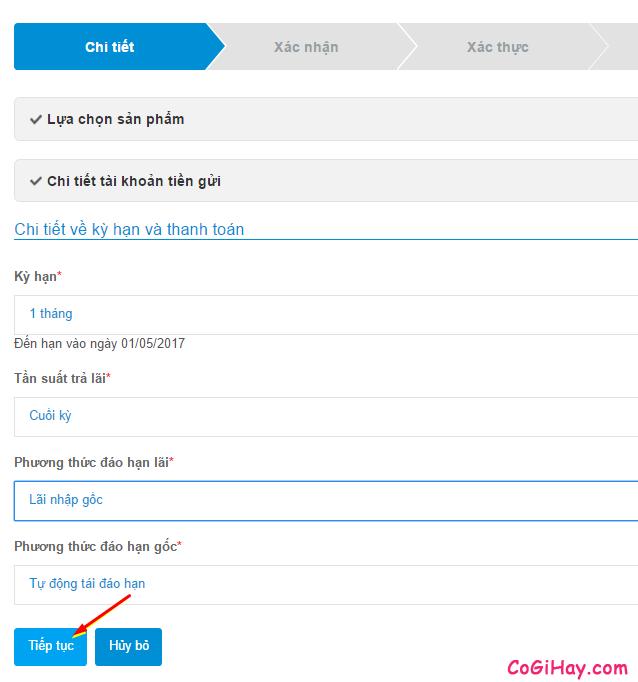 Chi tiết về kỳ hạn và thanh toán trên iPay