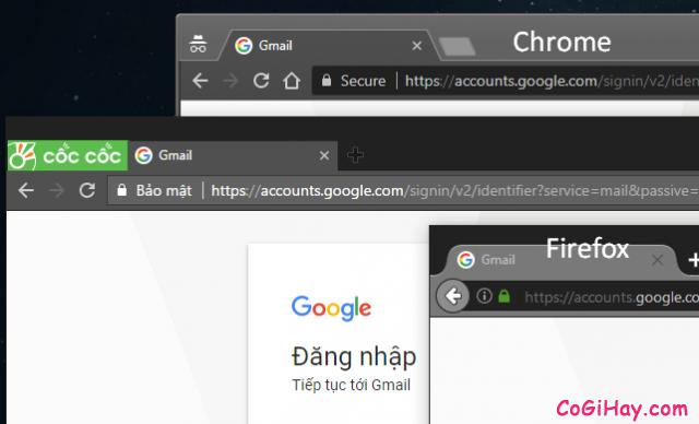 Đăng nhập nhiều Gmail trên các trình duyệt khác nhau - hình 2