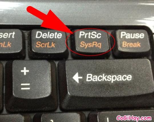 phím prt sc trên bàn phím