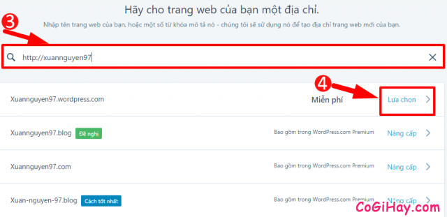 WordPress là gì? Cách đăng ký & tạo Website, Blog với WordPress.com + Hình 7