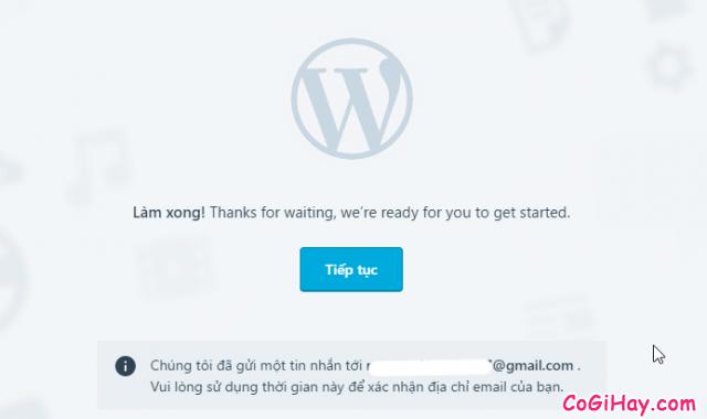WordPress là gì? Cách đăng ký & tạo Website, Blog với WordPress.com + Hình 10