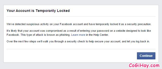 Hướng dẫn khôi phục lại tài khoản Facebook bị vô hiệu hóa + Hình 4