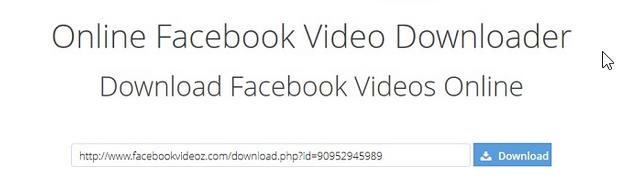 Hướng dẫn tải video từ facebook về máy nhanh nhất + Hình 3