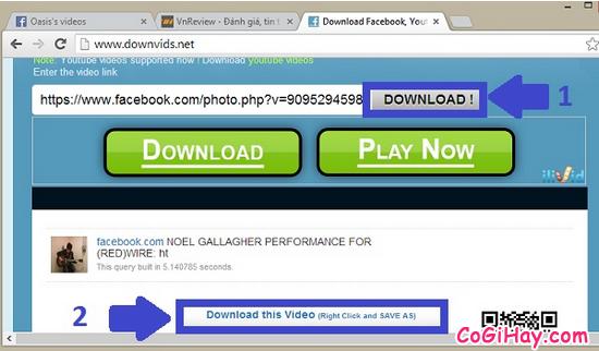 Hướng dẫn tải video từ facebook về máy nhanh nhất + Hình 5