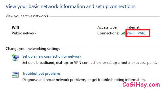 Hướng dẫn sửa lỗi Wifi không kết nối được do bị giới hạn bởi Limited Access + Hình 5