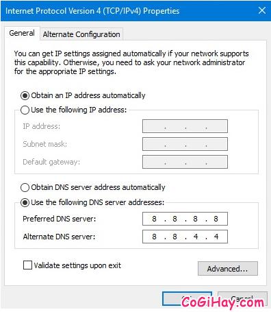Hướng dẫn sửa lỗi Wifi không kết nối được do bị giới hạn bởi Limited Access + Hình 8