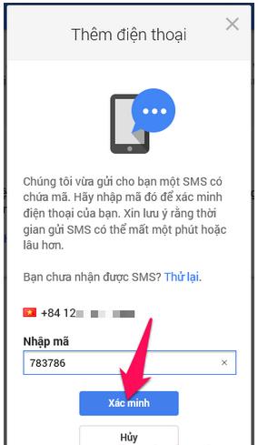 Cách thêm số điện thoại mới để khôi phục tài khoản Gmail, Email + Hình 9