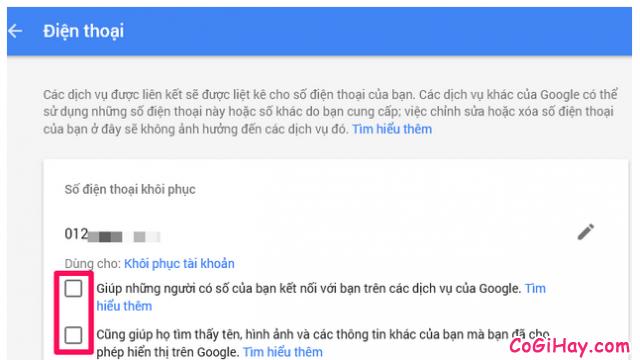 Cách thêm số điện thoại mới để khôi phục tài khoản Gmail, Email + Hình 11