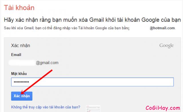 Các bước để xóa tài khoản Email, Gmail khi không sử dụng nữa + Hình 12