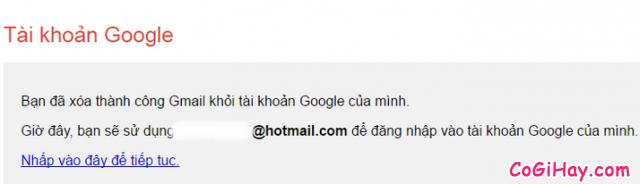 Các bước để xóa tài khoản Email, Gmail khi không sử dụng nữa + Hình 13