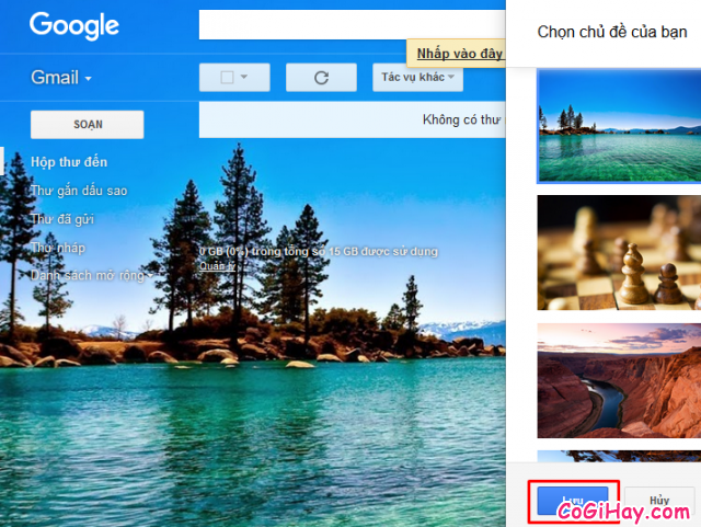 Hướng dẫn thay đổi giao diện cho Account Gmail + Hình 6