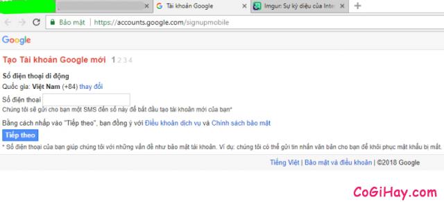 Hướng dẫn đăng ký tạo nhiều tài khoản Gmail chỉ với 01 số điện thoại + Hình 3