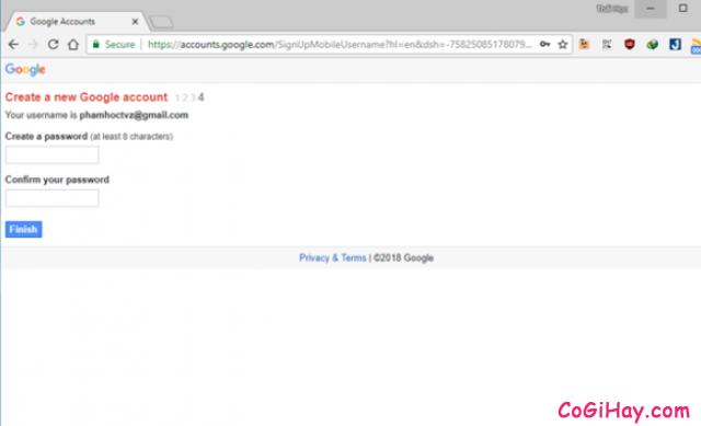 Hướng dẫn đăng ký tạo nhiều tài khoản Gmail chỉ với 01 số điện thoại + Hình 8