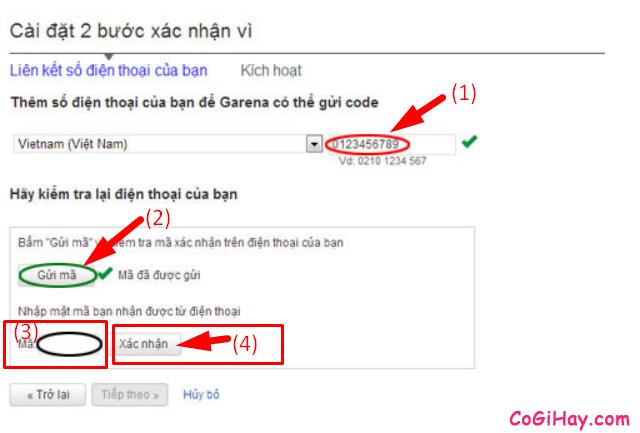 Hướng dẫn bảo mật Acc Garena bằng Email và Số điện thoại + Hình 13