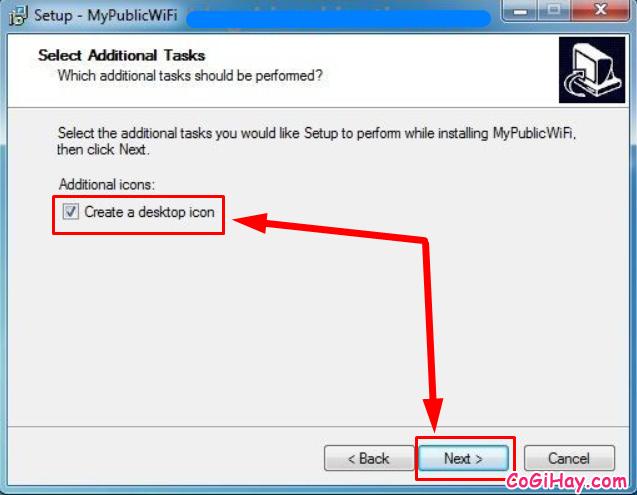 Cách phát WIFI trực tiếp từ máy tính với phần mềm My Public WiFi + Hình 5