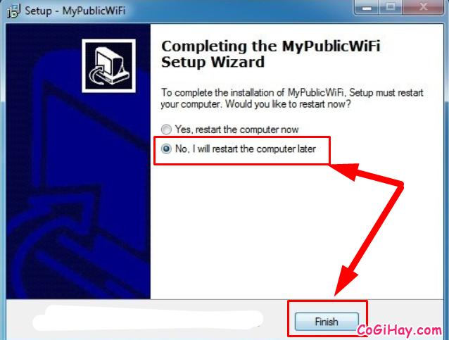 Cách phát WIFI trực tiếp từ máy tính với phần mềm My Public WiFi + Hình 6