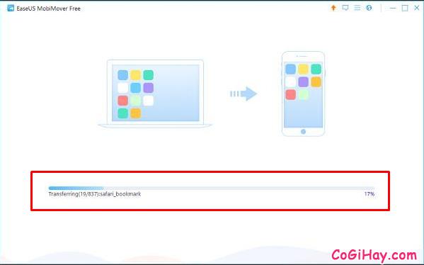 Sao lưu dữ liệu từ điện thoại iPhone, iPad sang Laptop với MobiMover Free + Hình 5
