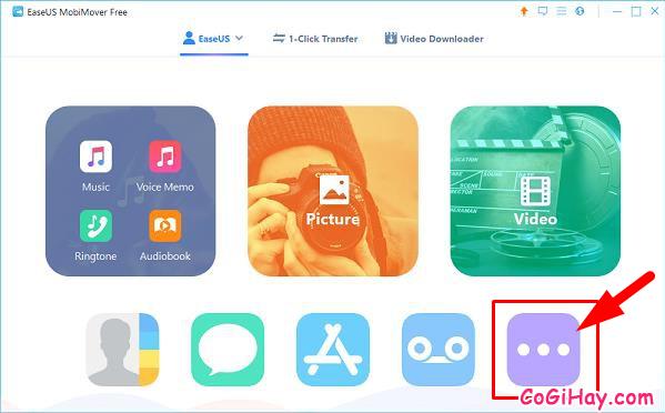 Sao lưu dữ liệu từ điện thoại iPhone, iPad sang Laptop với MobiMover Free + Hình 6