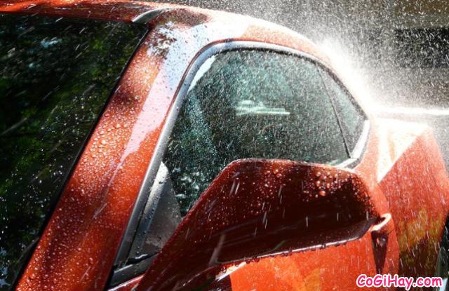 Hướng dẫn rửa xe ô tô tại nhà - Có nên rửa xe bằng nước mưa không ? + Hình 6