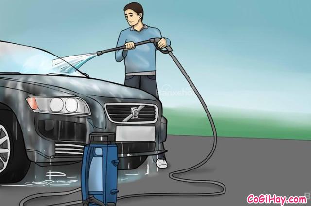 Hướng dẫn rửa xe ô tô tại nhà - Có nên rửa xe bằng nước mưa không ? + Hình 8