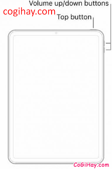 Mách bạn cách khôi phục cài đặt gốc trên tablet iPad Pro khi không có nút HOME + Hình 8