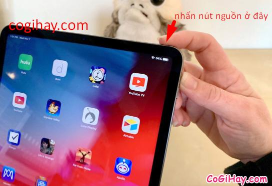Mách bạn cách khôi phục cài đặt gốc trên tablet iPad Pro khi không có nút HOME + Hình 10
